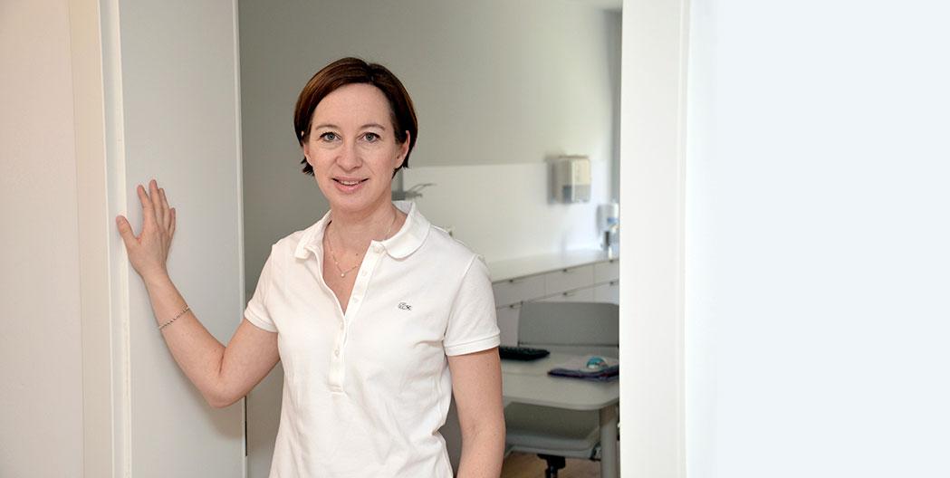 Wahlärztin Dr. Maria Laimer